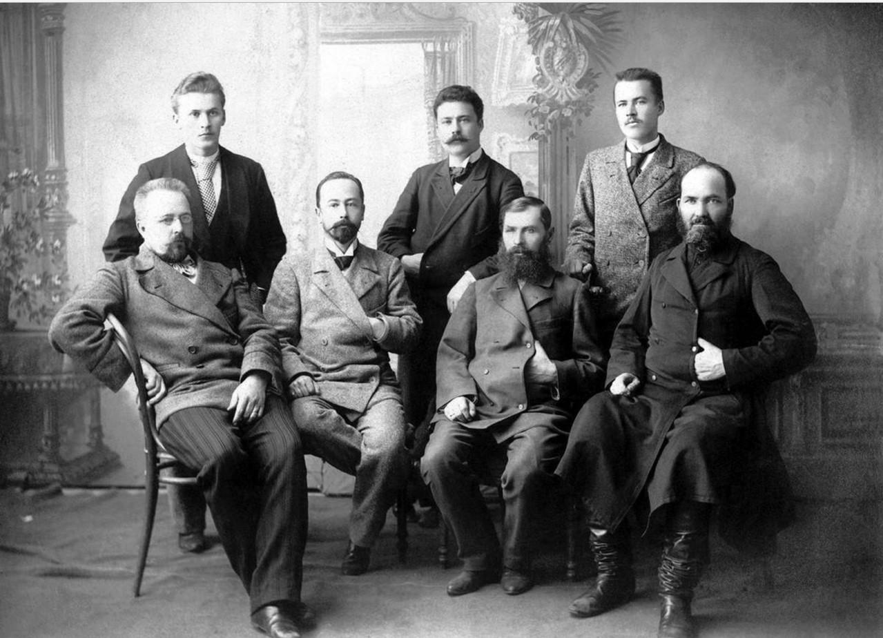Служащие чаеразвески Высоцкого