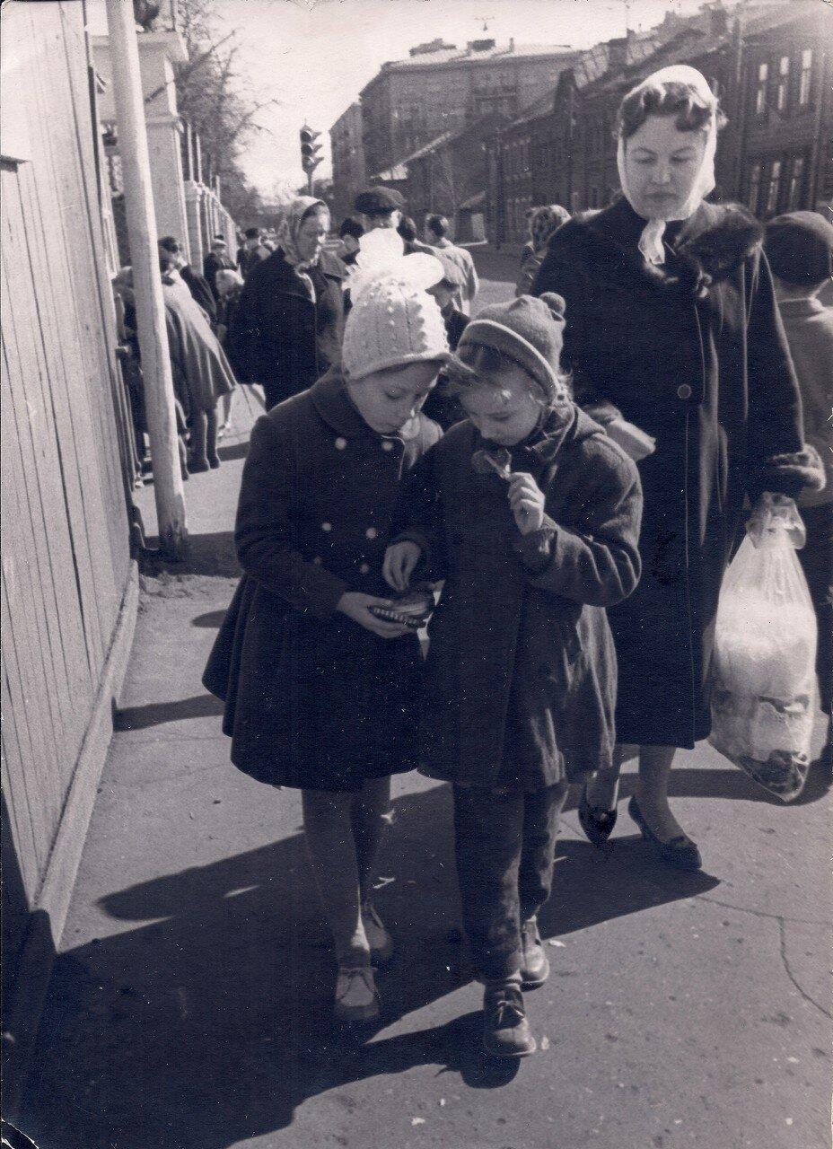 1959. Марьина роща. Детский парк Дзержинского района (автор Здорных А.П.)