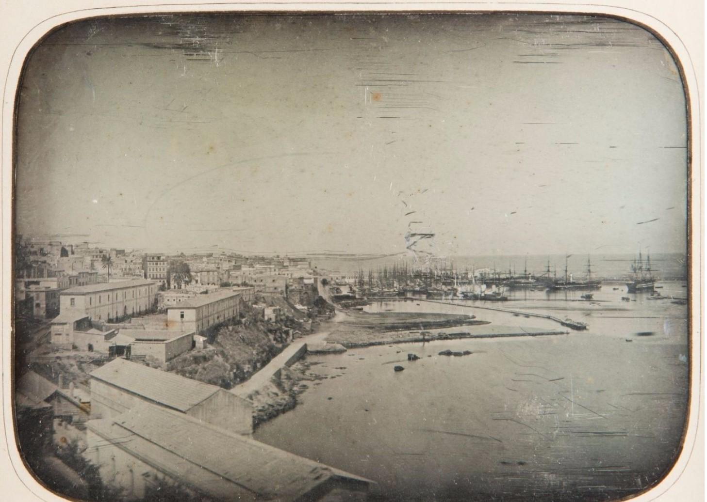 1850. Порт Алжир