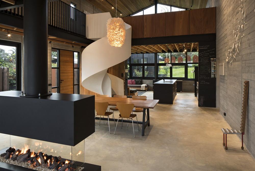 Дом с открытым пространством в Новой Зеландии
