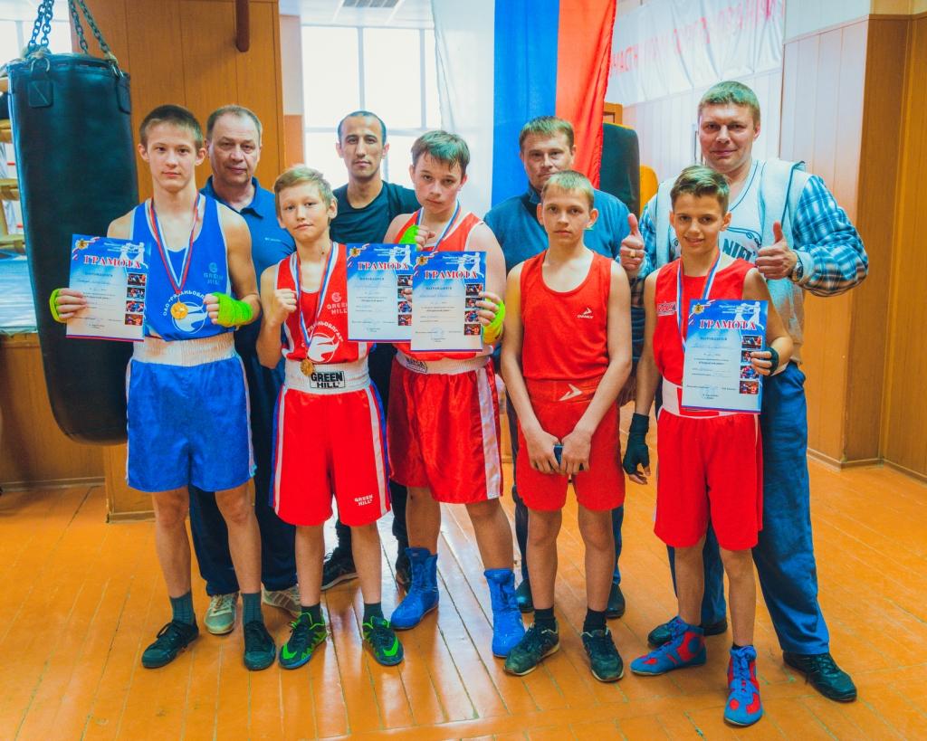 классификационные соревнования по боксу «Открытый ринг»