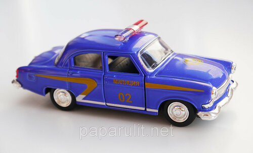 Машинка металлическая Волга СССР