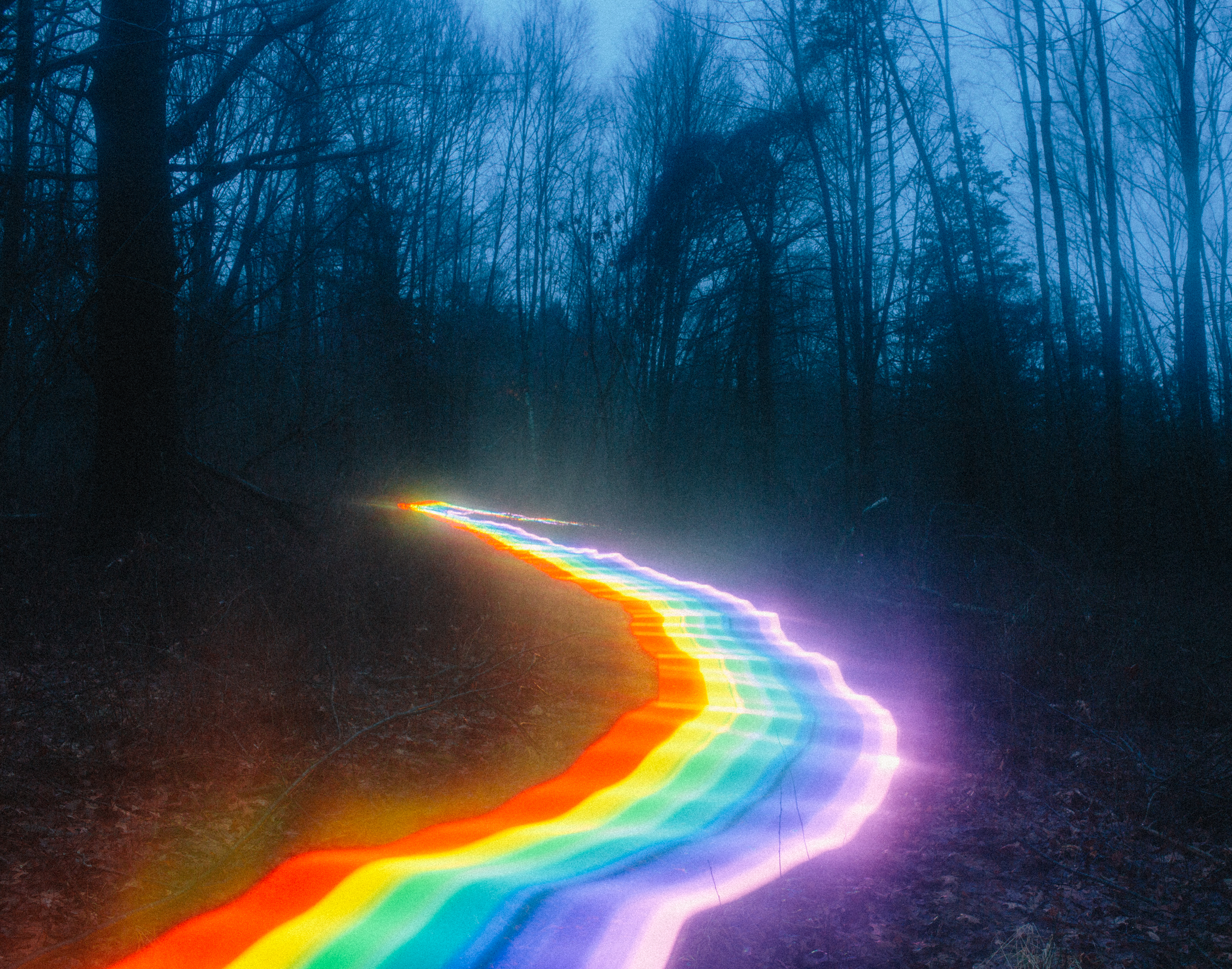 Magical Rainbow Roads