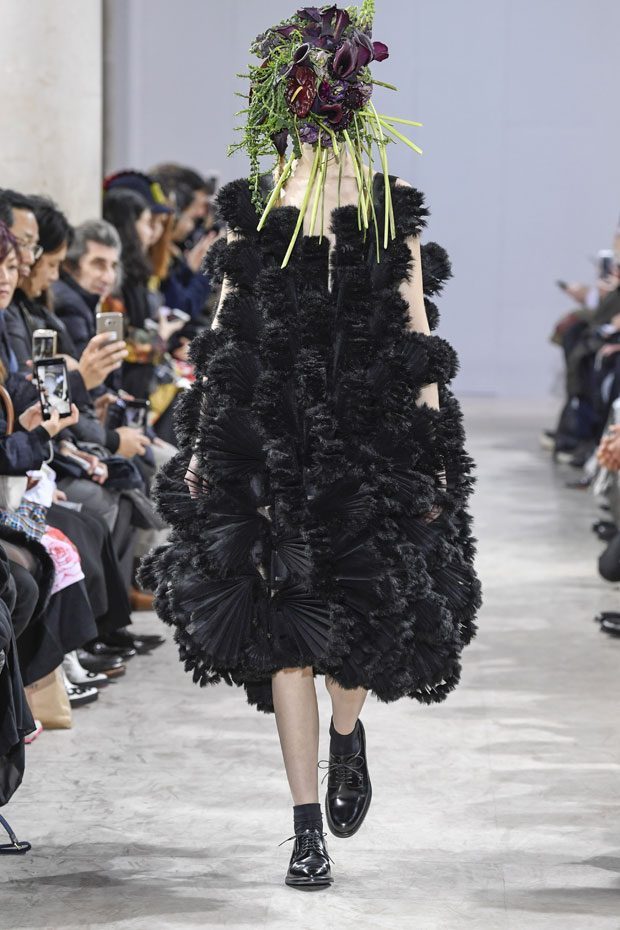 #PFW: Noir Kei Ninomiya Fall Winter 2018/19 Collection (36 pics)