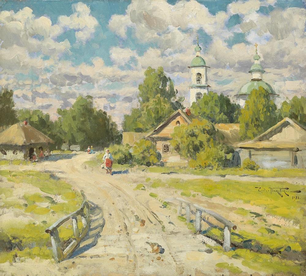 Village Road, 1922.