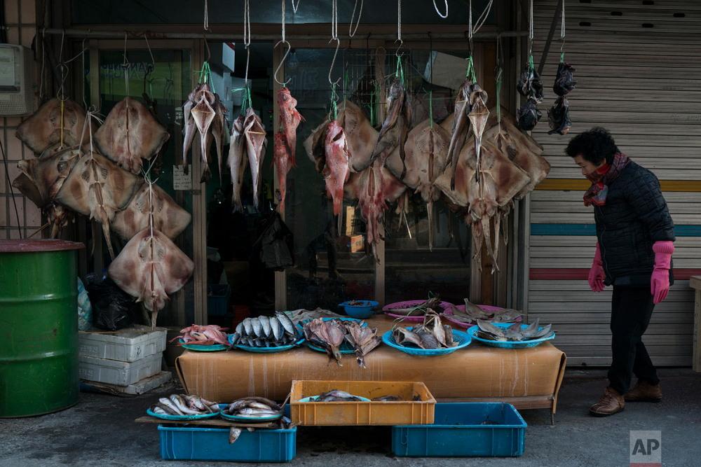Традиционные рынки Южной Кореи