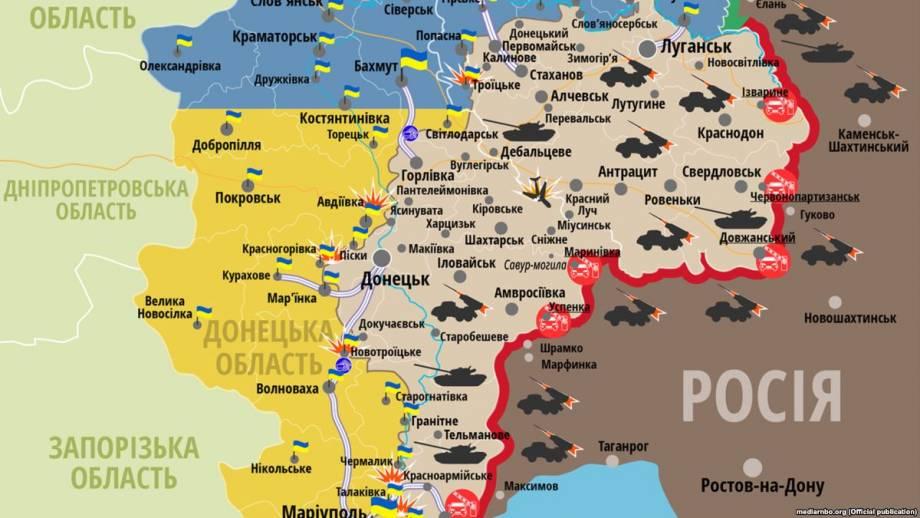 На Донбассе погиб один украинский военный – штаб