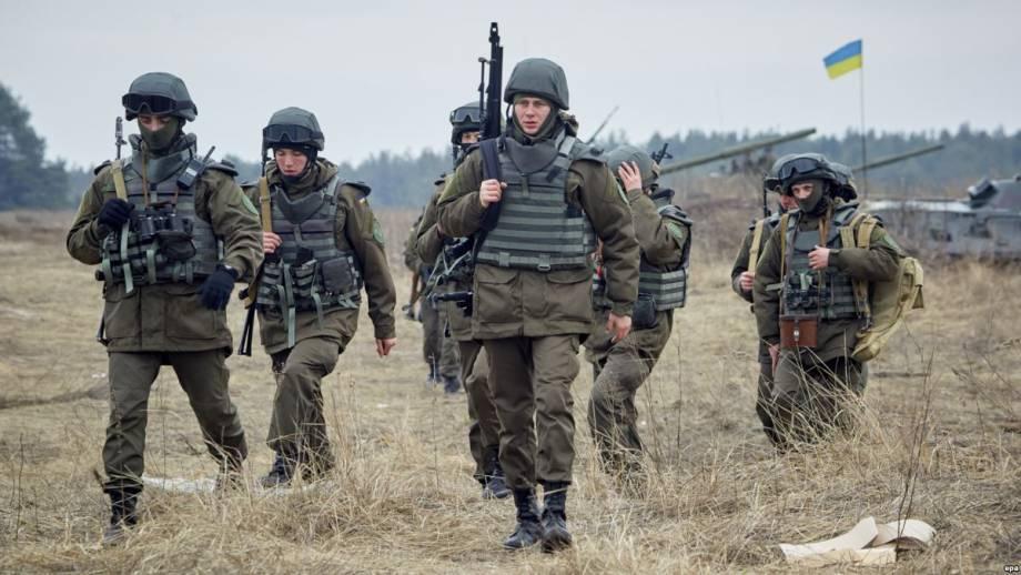 Четыре года Национальной гвардии Украины в 17 фото