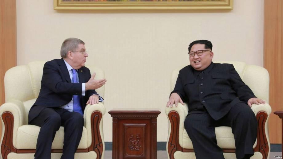 Руководитель МОК: Северная Корея примет участие в двух следующих Олимпийских играх