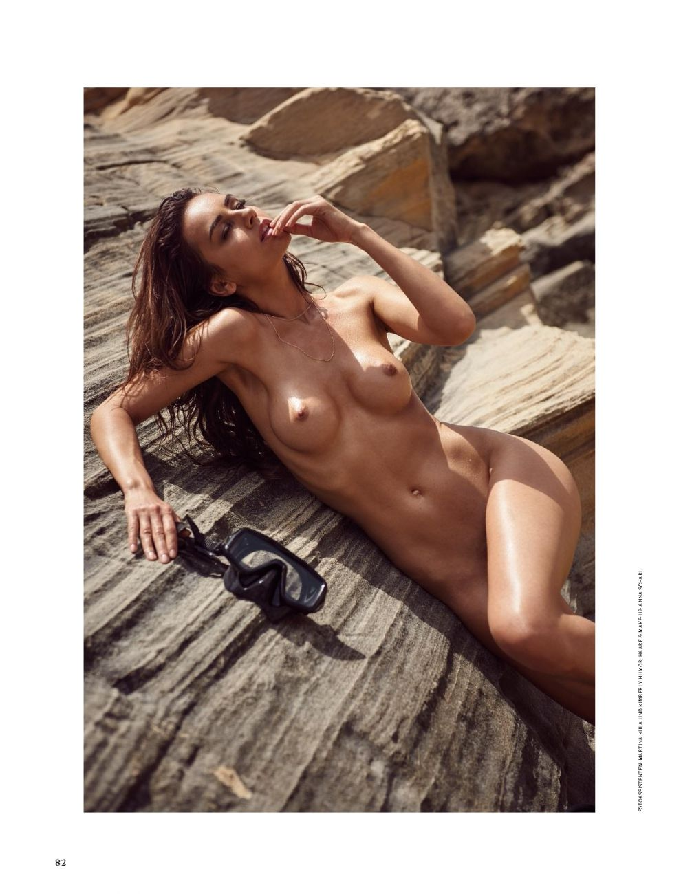 Veronika Klimovits for Playboy Germany April 2018