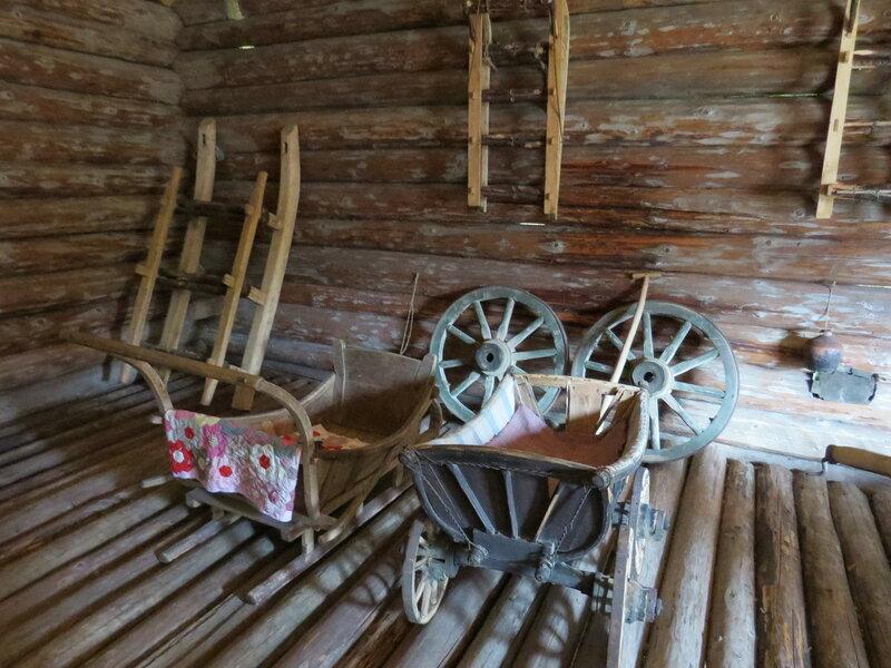 Детские санки. Витославлицы