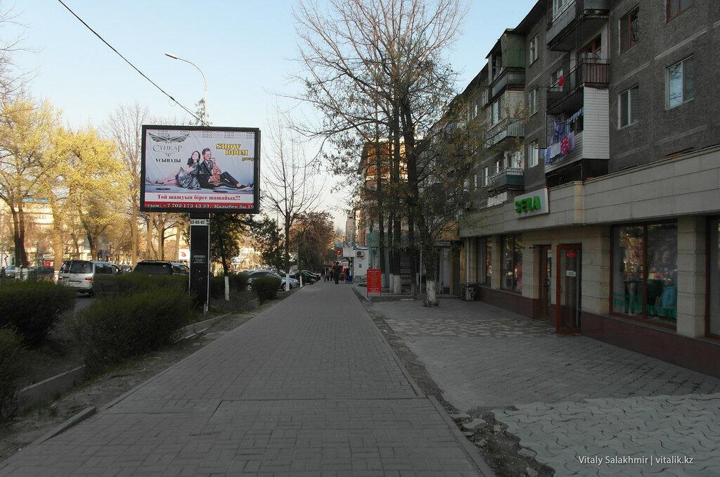 Улица Туркестанская, Шымкент