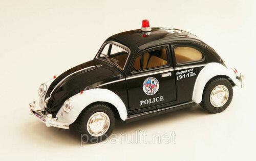 Kinsmart VW Police