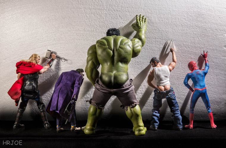 Toys Photography – When a photographer plays with his superhero toys