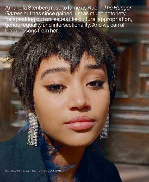 Amandla Stenberg is the Cover Star of Indie Magazine Spring 2018 Issue