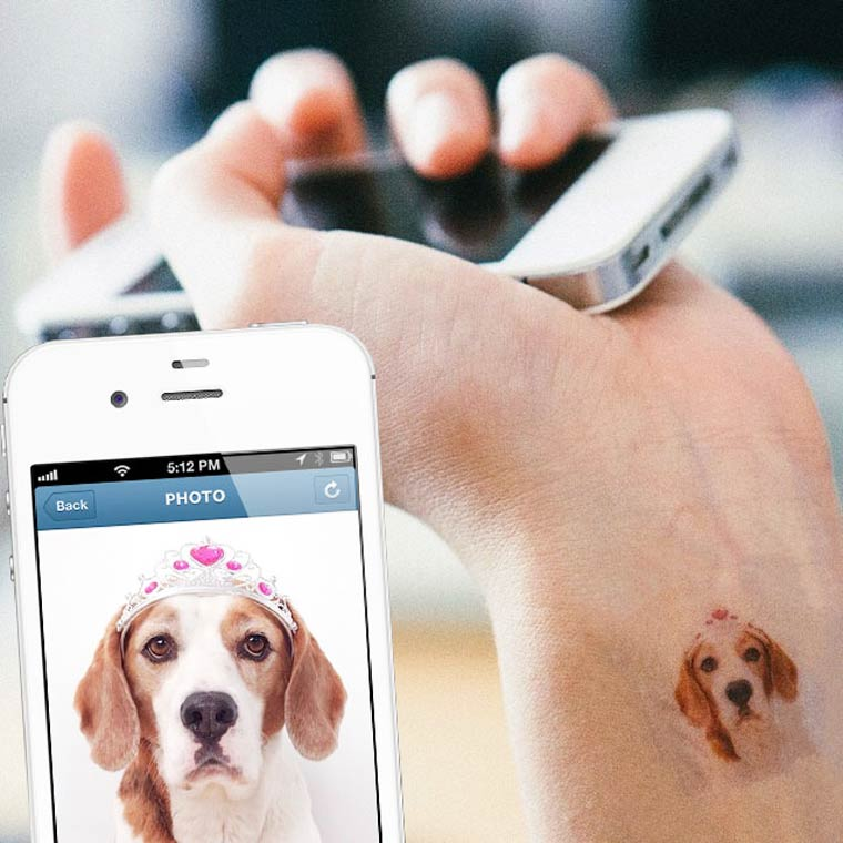 Picattoo – Turn your Instagram pictures into temporary tattoos
