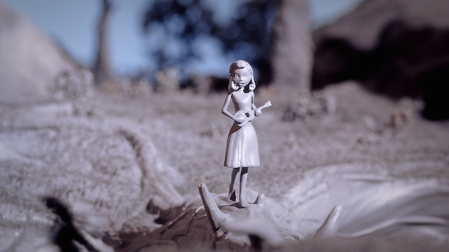 The First Short Movie with 3D Printed Pieces