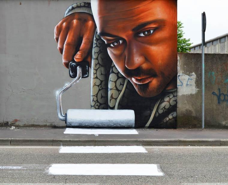 The augmented street art of Caiffa Cosimo