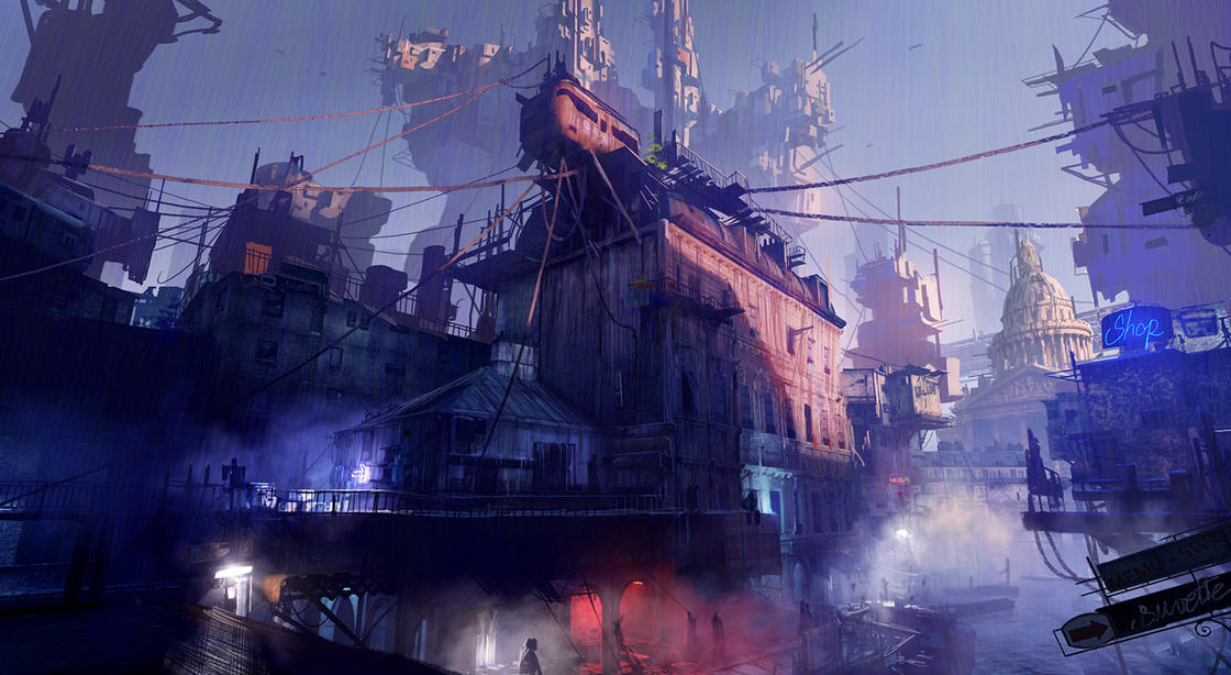 Sombre Futur – The impressive concept arts of Paul Chadeisson