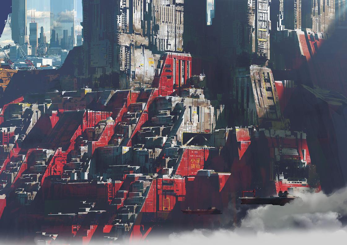 Sombre Futur – Les impressionnants concept arts de Paul Chadeisson