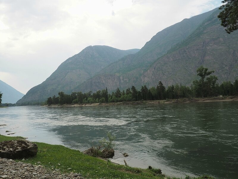 Горный Алтай, река Чулышман (Mountain Altai, Chulyshman River)