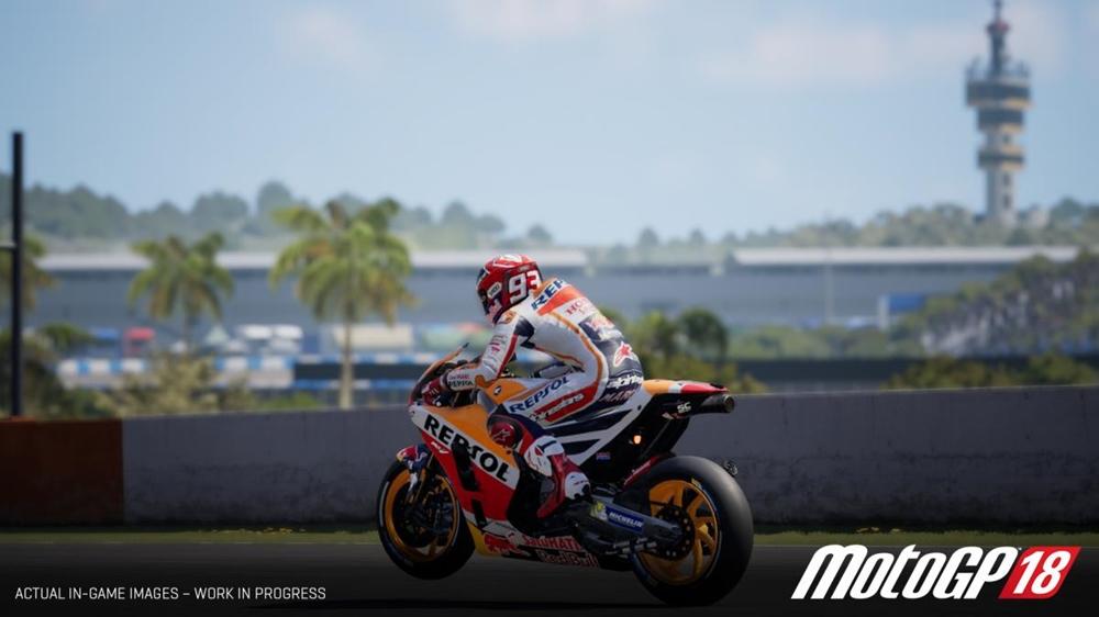 Новую видеоигру MotoGP 2018 представят 7-го июня