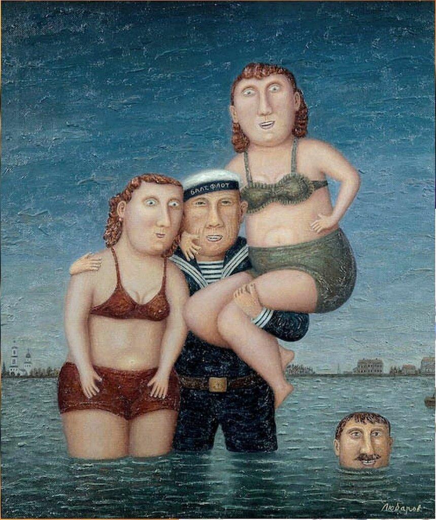 Из произведений Владимира Любарова. Фото на память , 1998 год.jpg