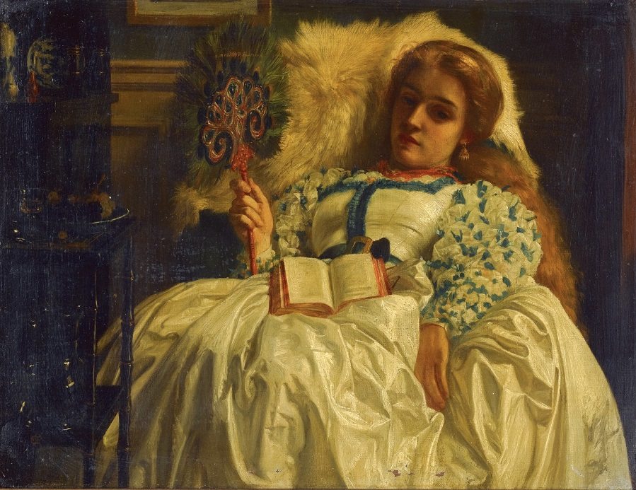 1864 Павлиний веер Частное собрание
