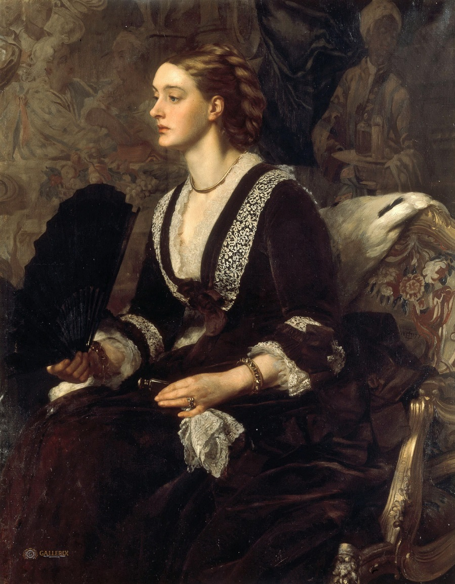 1877 Портрет миссис Арчибальд Мильмен Частное собрание