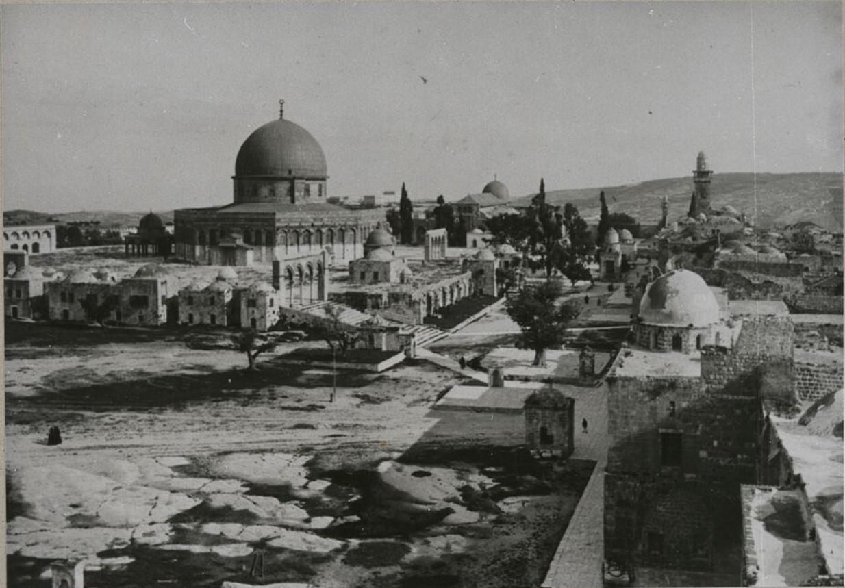 Иерусалим. Мечеть Эль-Акса и эспланада