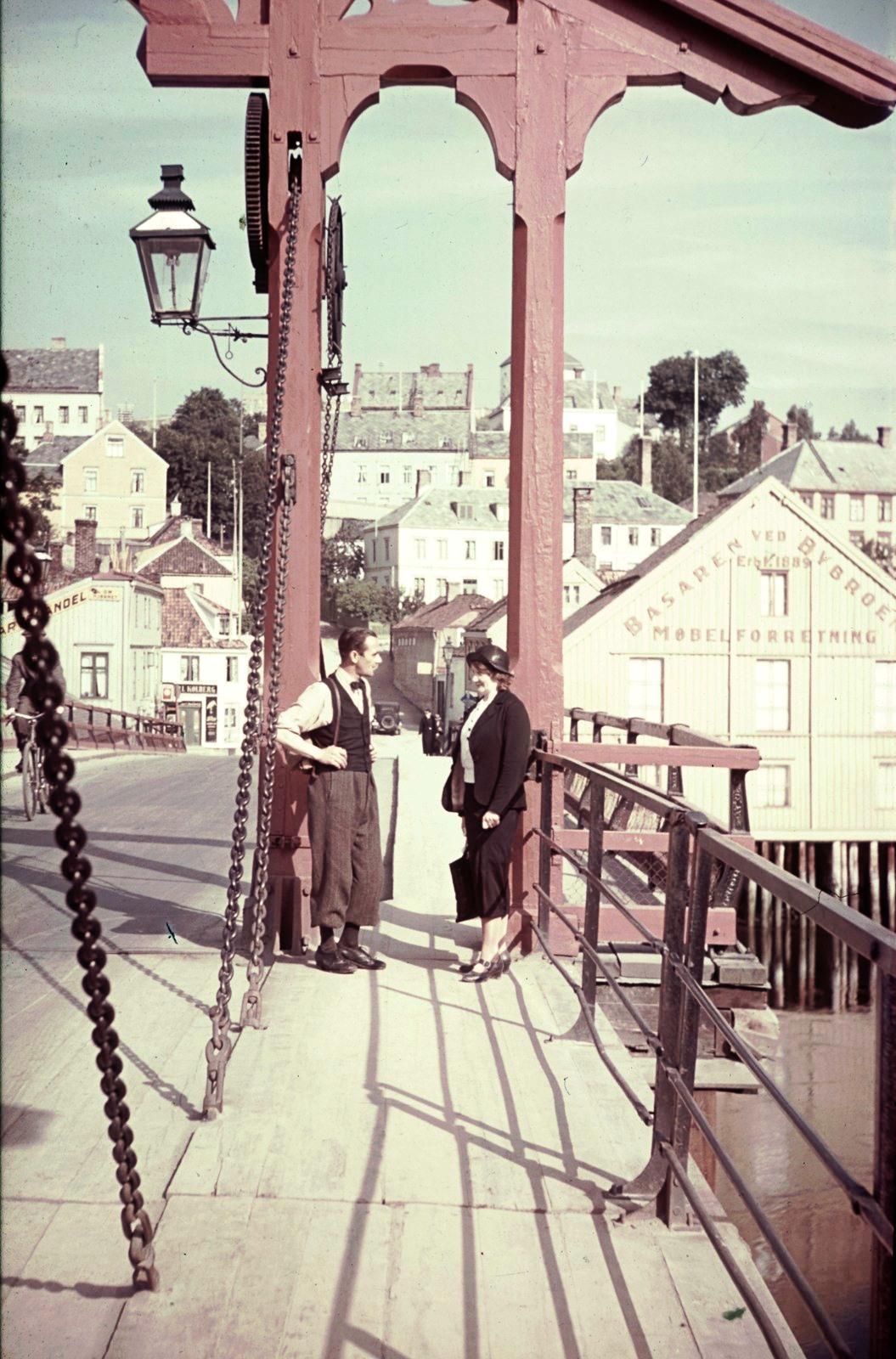 Трондхейм. Старый городской мост