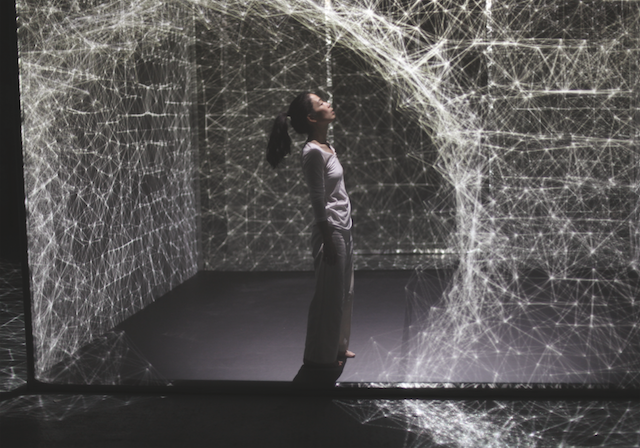 Dancing in a Projection-Mapped Cube