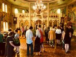 Празднование Входа Господня в Иерусалим в храме Всех святых в земле Российской просиявших в Лянусе