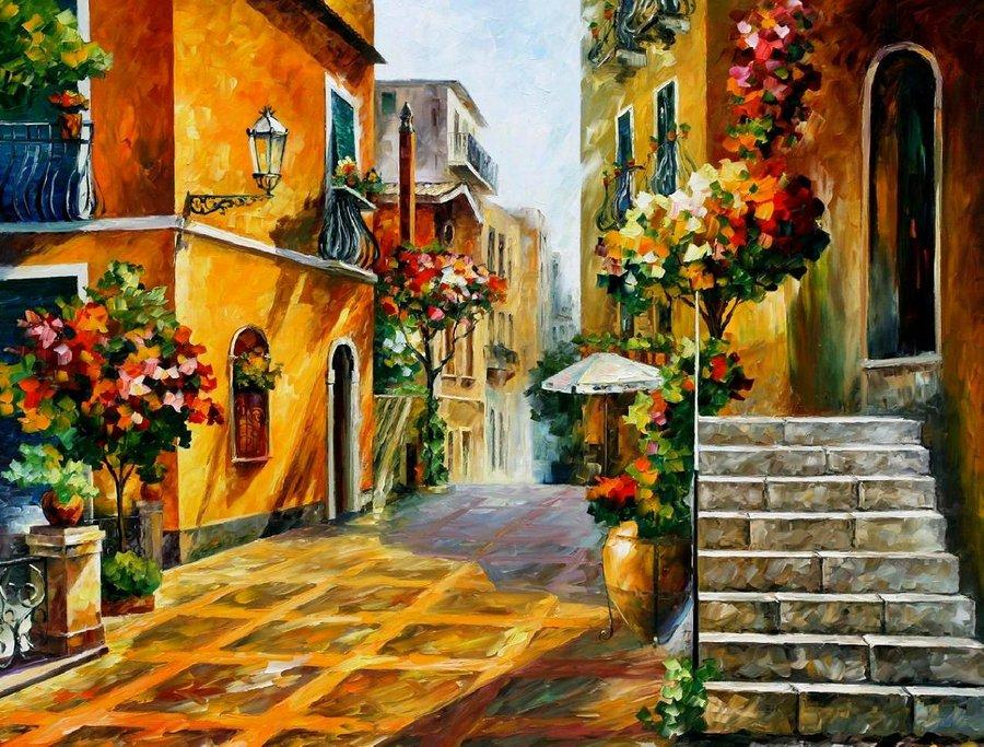 The Talented Oil Painting Artist, Leonid Afremov