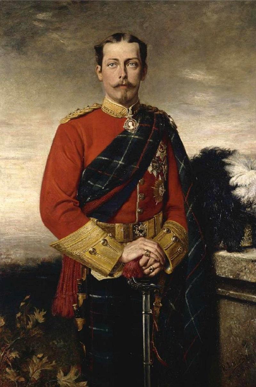 Prince Leopold, Duke of Albany,1884.