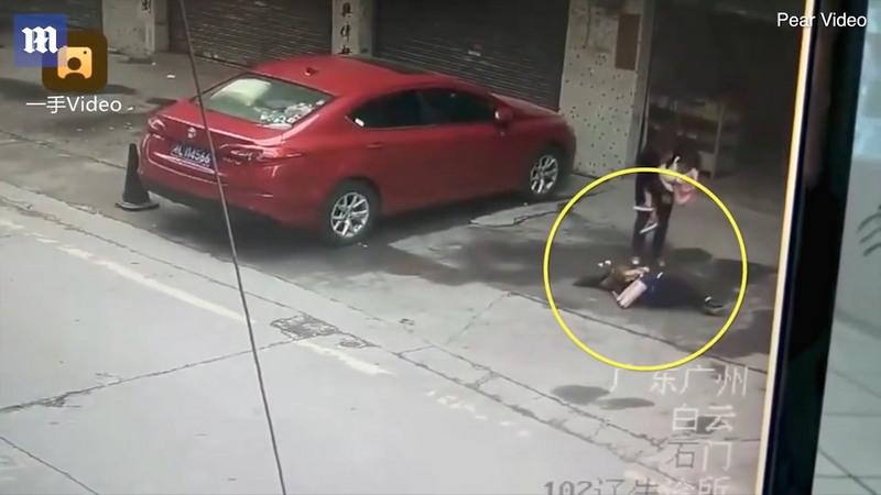 На женщину сверху упала.... собака упала, собака, Странный, получила, встала, убежала, места, происшествия, Женщину, доставили, больницу, сотрясение, сознание, мозга, серьезную, травму, Местная, полиция, владельца, собаки
