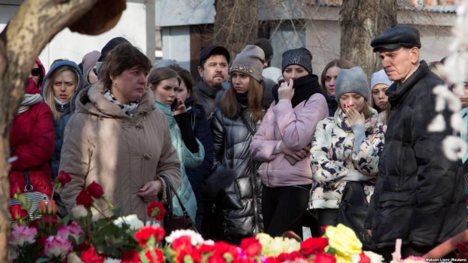 Пожар в российском Кемерове: суд арестовал двух людей