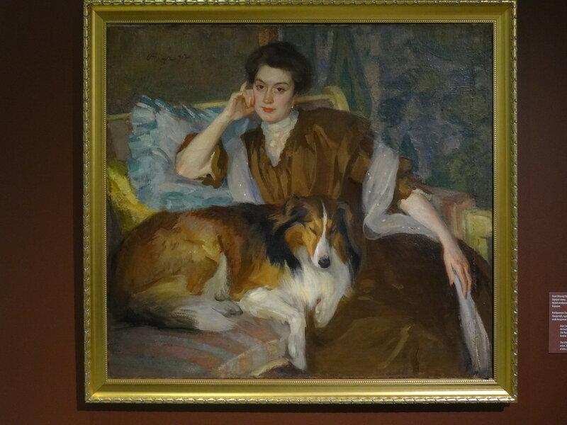 Осип (Ифосиф) Браз Портрет жены. 1907 Музей изобраз. иск-в Республики Карелия.JPG