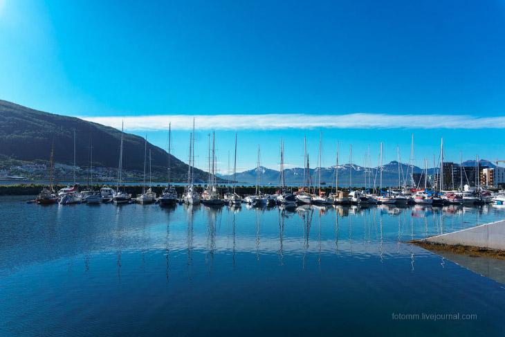 Тромсё: добро пожаловать в Норвегию (31 фото)