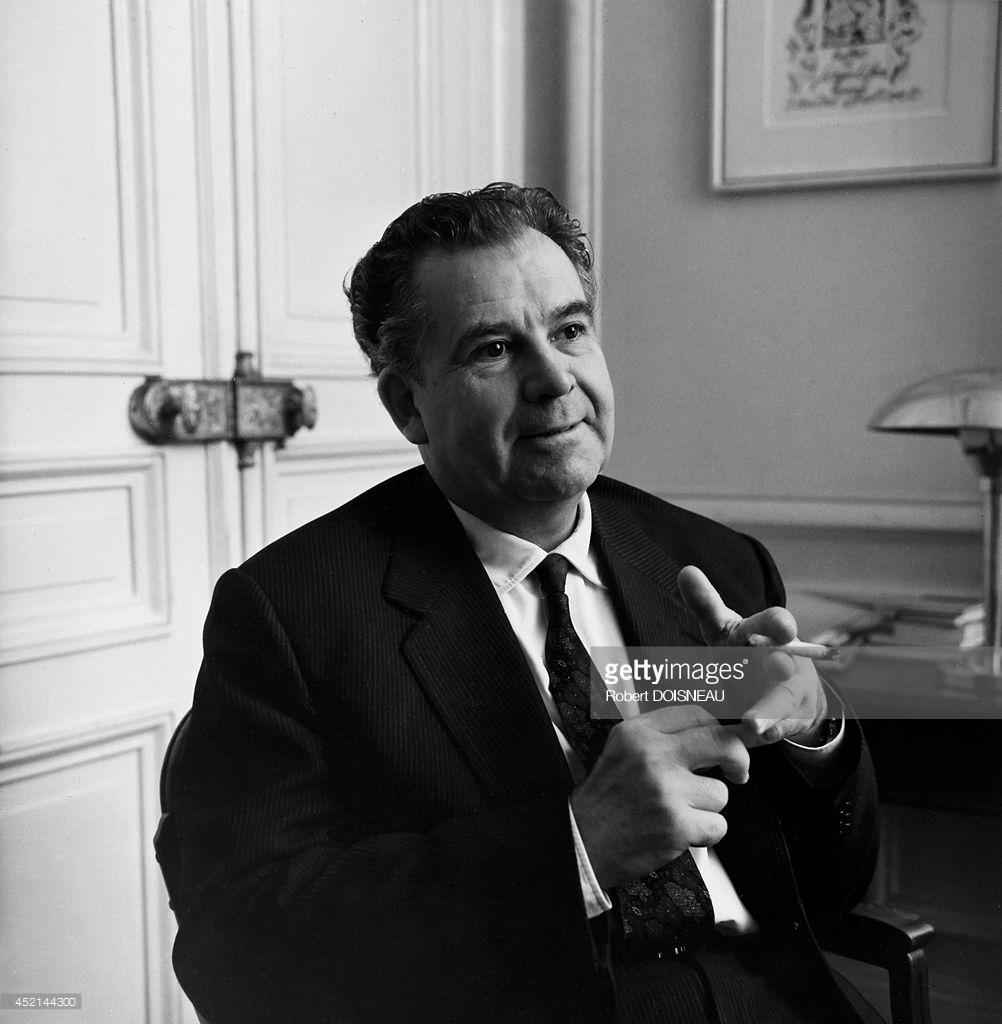 1970-е. Портрет французского композитора Андре Жоливе