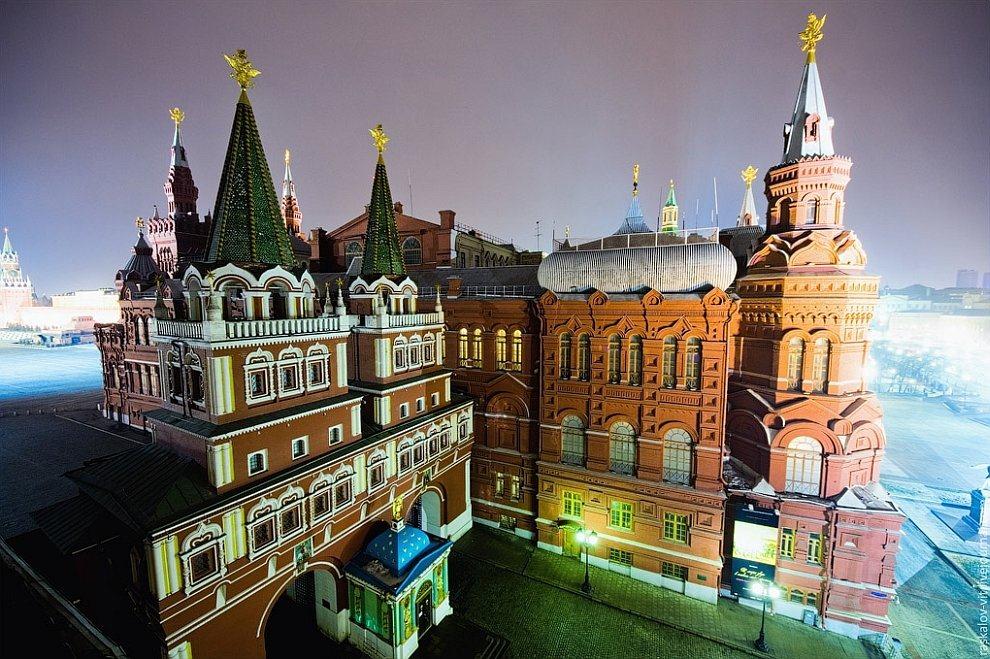 Красная площадь площадь крыши крыша красный уникальность Кремль