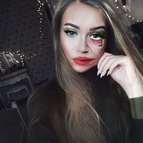 Художник-визажист Моника Фальчик