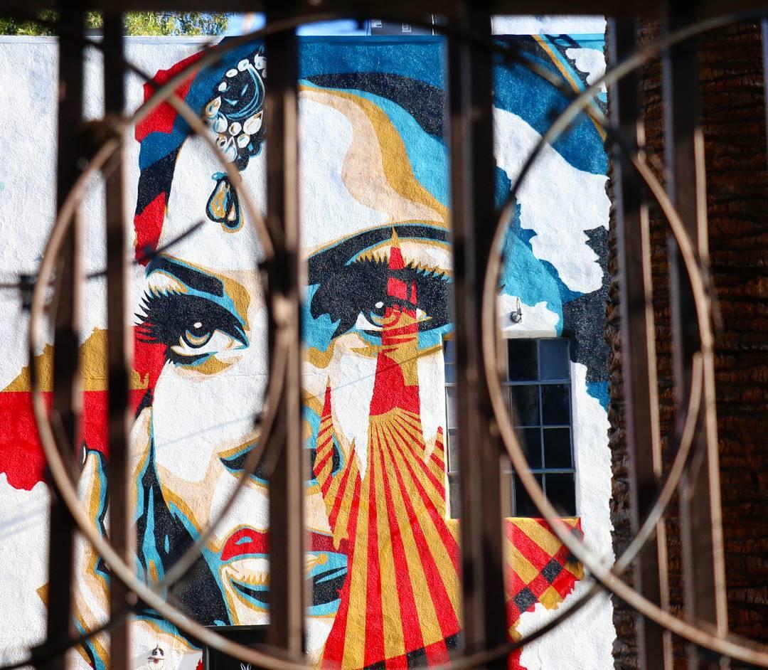 Streets: Vhils x Shepard Fairey -