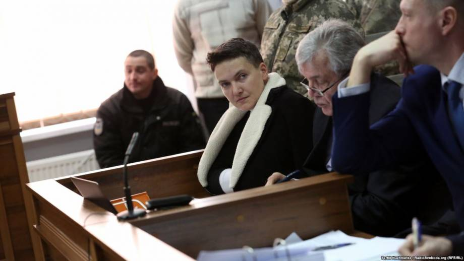 Адвокаты подали жалобу на арест Савченко
