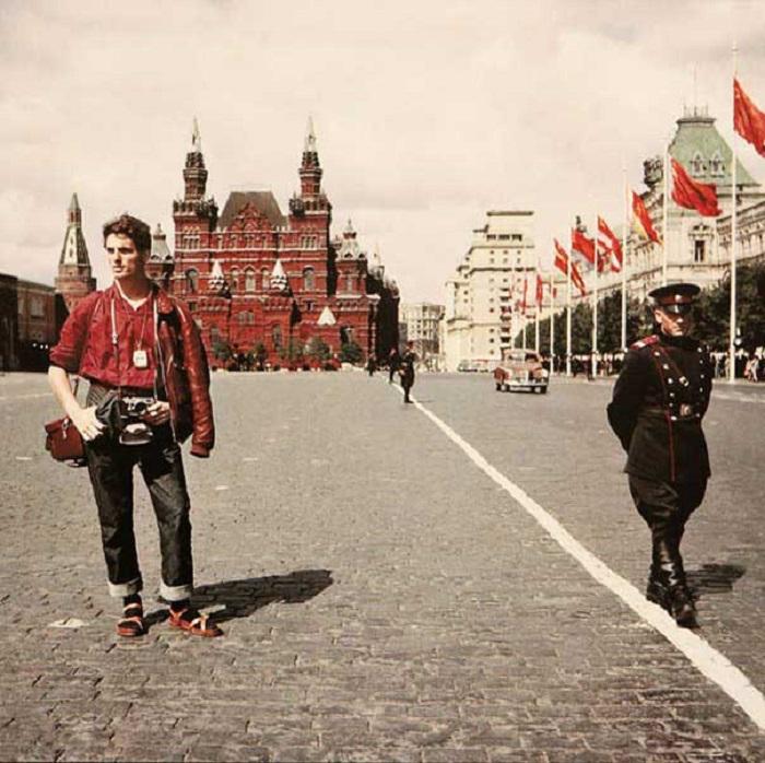 жизнь людей культура ретро СССР техника