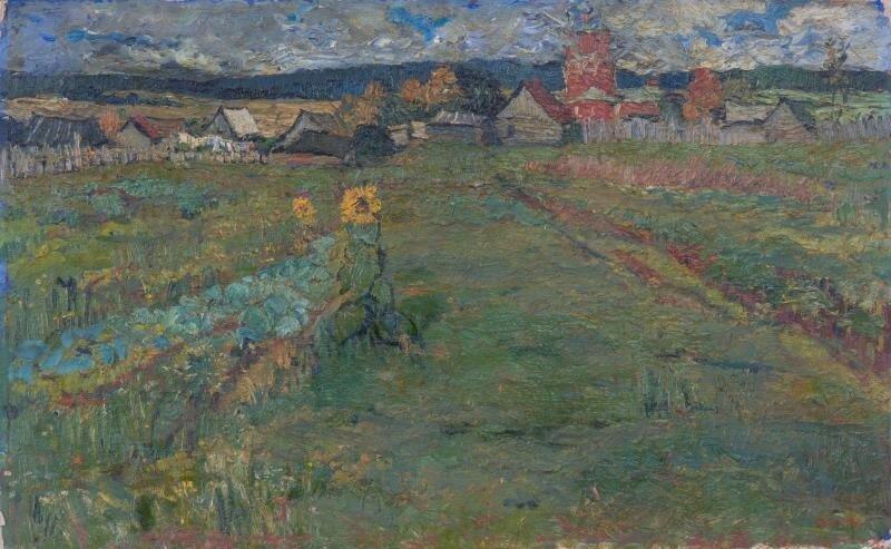 1971 Деревня Тропарёво. Горелова Татьяна Васильевна.jpg