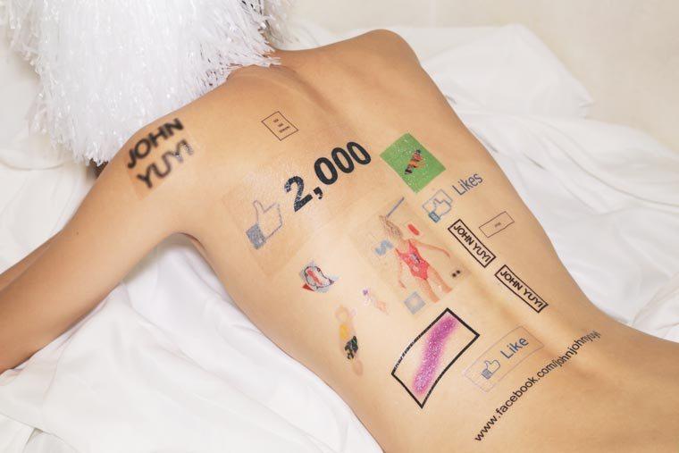 Tatuagens temporarias e redes sociais (22 pics)