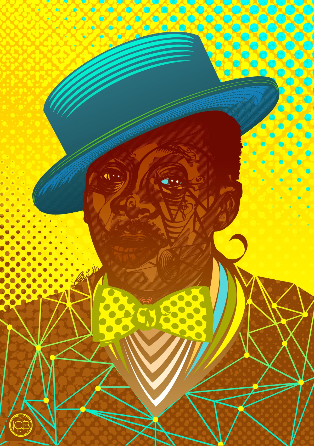 Projeto reune ilustracao que mostram grandes nomes da historia do samba