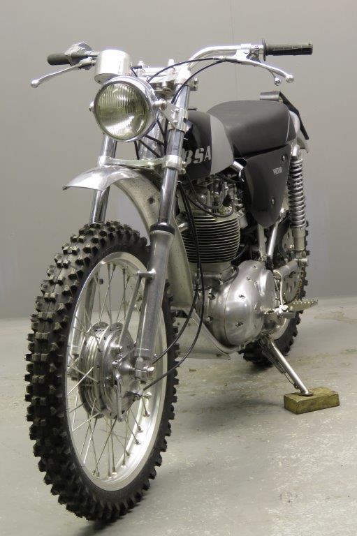 Ретро эндуро BSA B44 Victor 1967