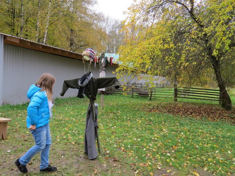 Огородное пугало. Витославлицы в Великом Новгороде
